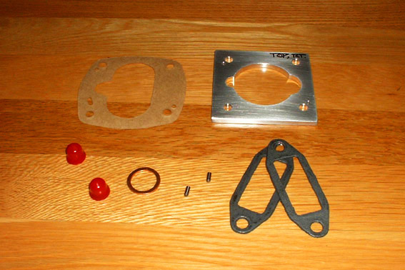 Full Flow Oil Filter Adapter - Pressure-Relief: DIY Kit